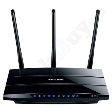 TP-LINK TL-WDR4300 N750 Wireless N IEEE 802.11a/b/g/n Dual Band Gigabit Router