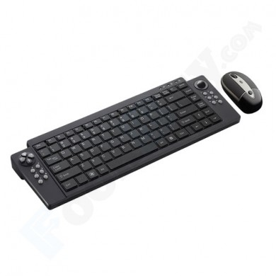 SMK-LINK VP6321 VersaPoint Rechargeable Wireless Media Keyboard and Mouse Combo