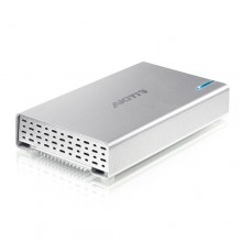 "Akitio Neutrino U3+ 2.5"" USB 3.0 Portable Hard Drive Enclosure For Mac PC"