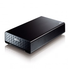 "Akitio SK3500 Super-S Black Aluminum USB 2.0 SATA FireWire 3.5"" Portable Hard Drive Enclosure For Mac PC"