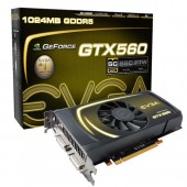 EVGA 01G-P3-1461-KR GeForce GTX 560 1GB 256-bit GDDR5 PCI Express 2.0 x16 SLI Support Video Card
