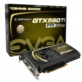 EVGA 01G-P3-1561-KR GeForce GTX 560 Ti FPB 1GB 256-bit GDDR5 PCI Express 2.0 x16 SLI Support Video Card