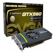 EVGA 02G-P3-1469-KR GeForce GTX 560 2GB 256-bit GDDR5 PCI Express 2.0 x16 SLI Support Video Card