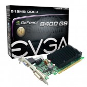 EVGA 512-P3-1301-KR GeForce 8400 GS 512MB 32-bit DDR3 PCI Express 2.0 x16 Low Profile Ready Video Card