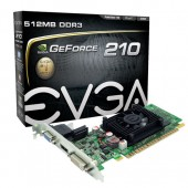 EVGA 512-P3-1310-LR GeForce 210 512MB 32-bit DDR3 PCI Express 2.0 x16 Low Profile Video Card