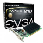 EVGA 512-P3-1311-KR GeForce 210 512MB 32-bit DDR3 PCI Express 2.0 x16 Video Card