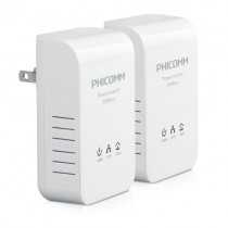 Phicomm FPA-201KIT Up to 200Mbps Powerline AV Network Adapter Kit